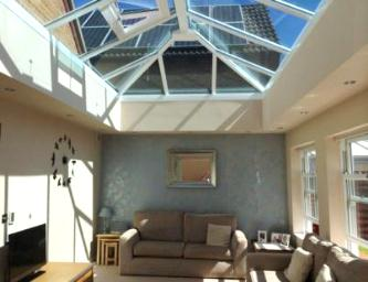 Conservatory installation in Backwell, near Bristol, by Mendip Conservatories