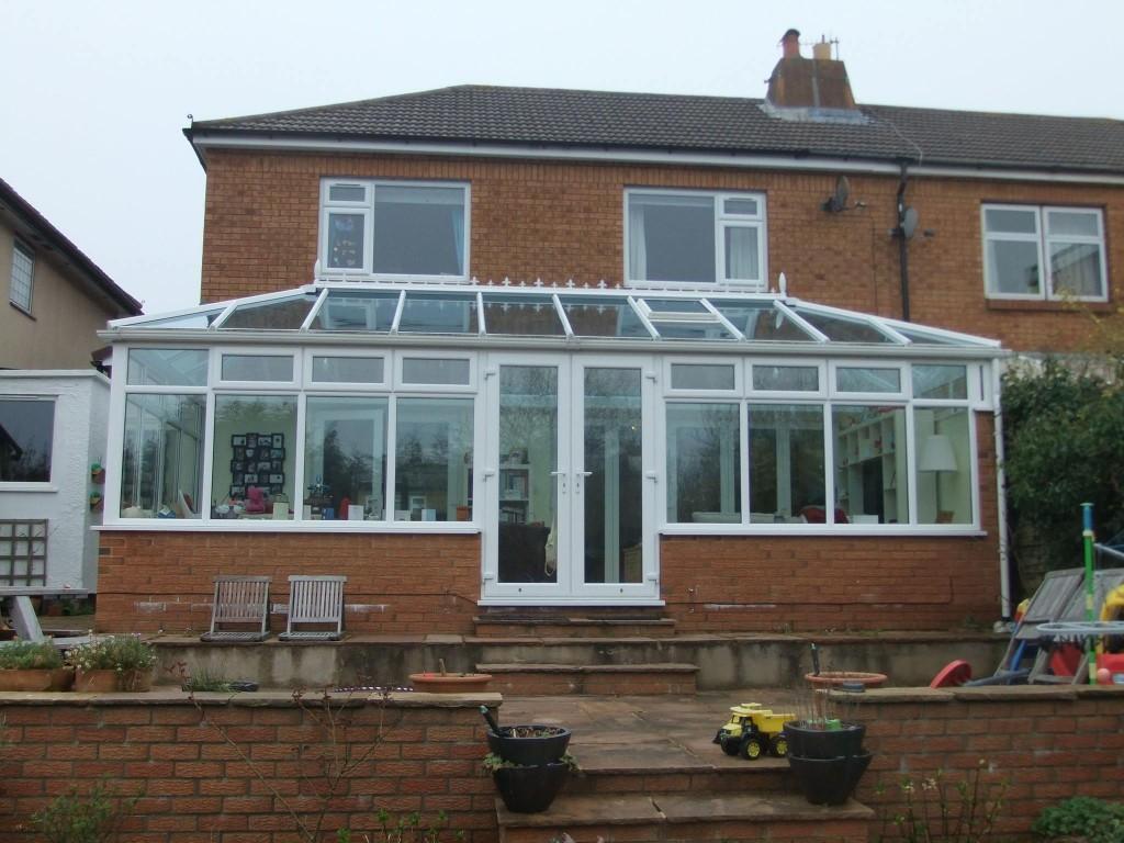 double backed hipped edwardian conservatory