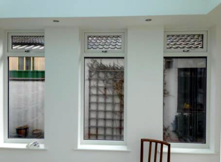 Double glazed casement windows installed in an orangery by Mendip Conservatories