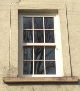 Timber sash window made from quality hardwood