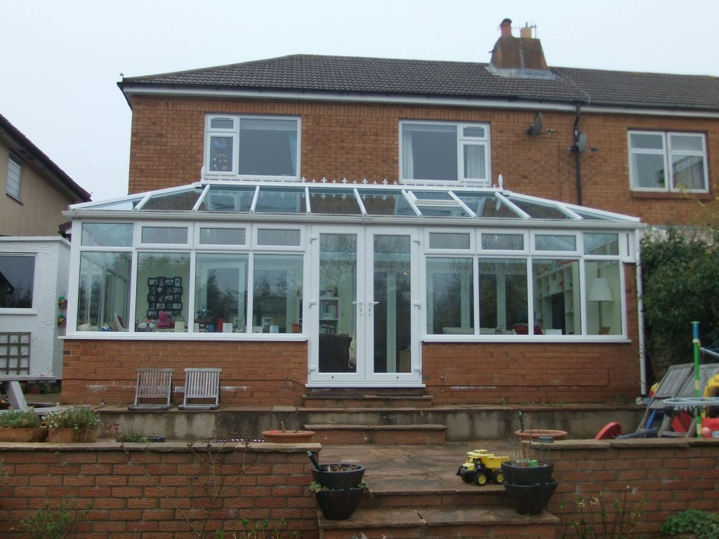 double backed hipped edwardian conservatory
